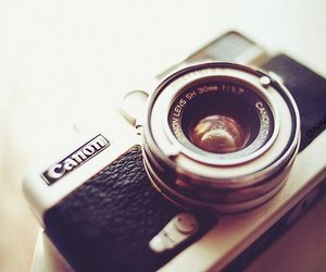 camera, vintage, and canon image