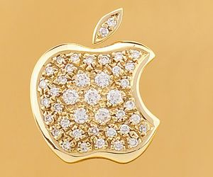 apple and diamond image