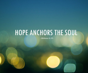 hope, soul, and anchor image