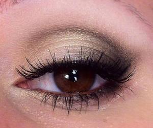 eye, girl, and make up image