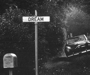 Dream, vintage, and black and white image