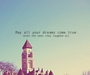 Dream, quote, and text image