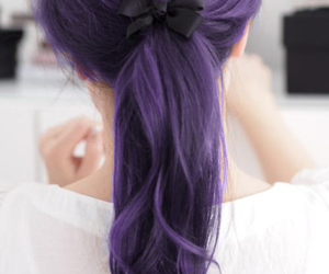 estilos, hairstyle, and ponytail image