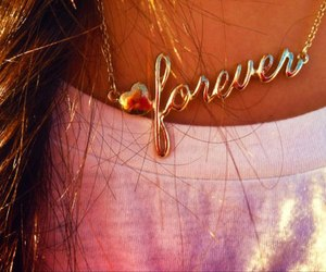 forever and necklace image