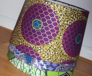 home decor, african wax print, and ankara fabric image