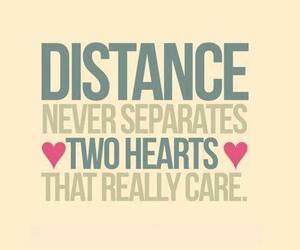 love, distance, and care image