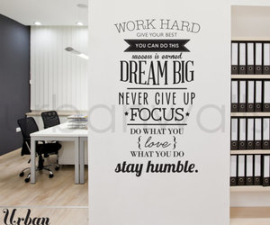 quote, Dream, and work image
