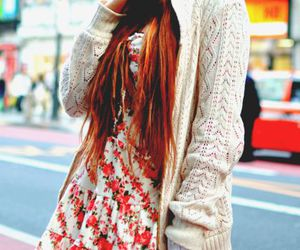 busy, cardigan, and fashion image