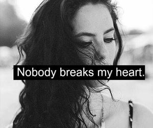 heart, break, and nobody image