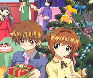 anime, sakura, and shaoran image