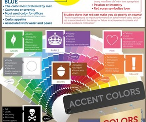 colors, color, and psychology image