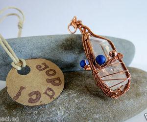 copper, handmade, and lemurian quartz image
