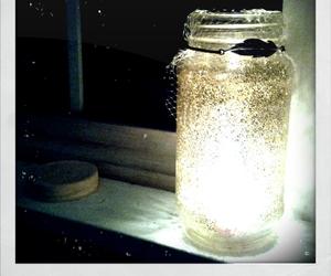 glitter jar fireflies image