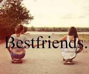 best friends, friends, and bestfriends image