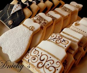 Cookies, wedding, and dnichys image