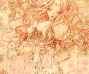 anime, sleeping beauty, and manga image