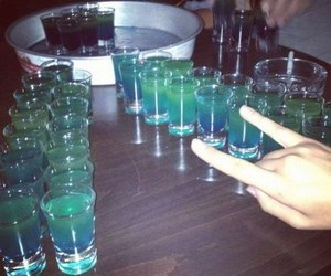 alcohol, party, and Shots image