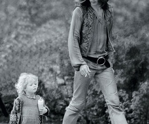 hippie and black and white image