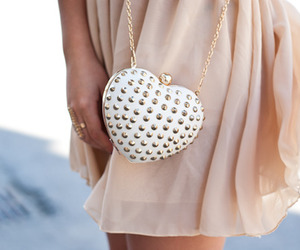 fashion, bag, and heart image