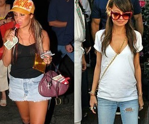 thinspo, before and after, and fashion image