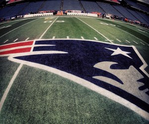 football, NFL, and patriots image