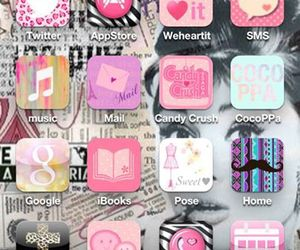 custom, girly, and iphone image