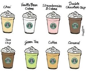 starbucks, coffee, and caramel image