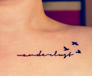 birds, collarbone, and saying image