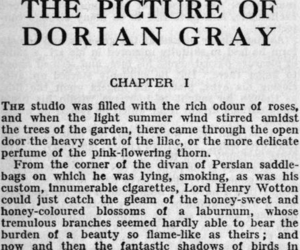 dorian gray, book, and oscar wilde image