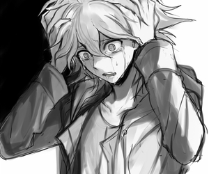 anime, anime boy, and nagito komaeda image