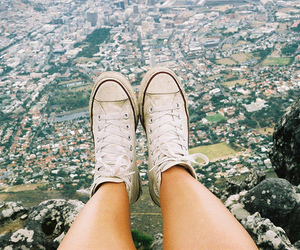 converse, shoes, and city image