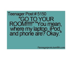bedroom, ipod, and okay image