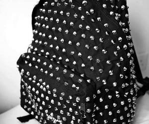 bag, black, and backpack image