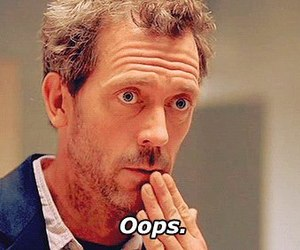 oops, dr house, and house image