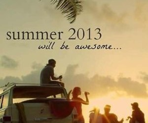 summer, friends, and awesome image