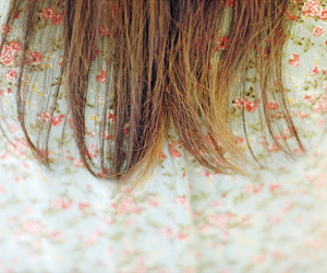 hair and floral image