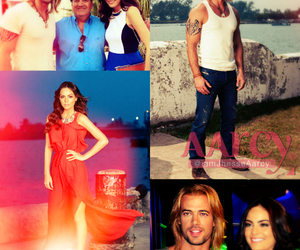 william levy, ximena navarrete, and la tempestad image
