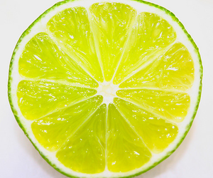 fruit, lemon, and green image