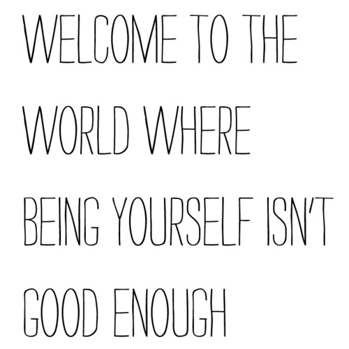 Being Yourself Tumblr Shared By Biebette