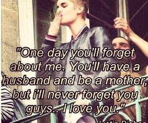 forever, justin bieber, and love image