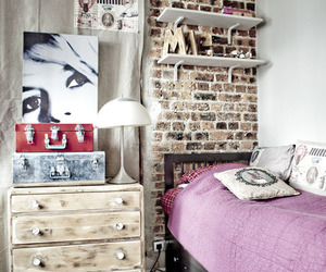 bedroom, architecture, and decoration image