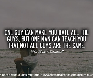 love, hate, and guy image