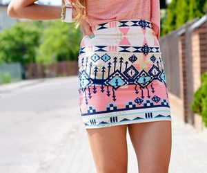 fashion, summer, and jupe image