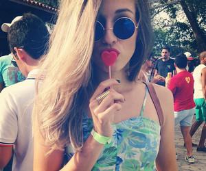 girl, lollipop, and summer image