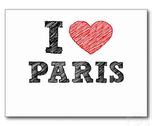 heart, paris, and love image