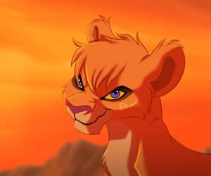 lion and vitani image