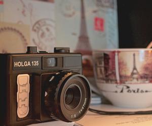 camera, paris, and vintage image
