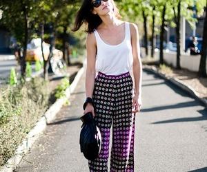 brunette, lookbook, and sunglasses image