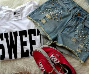 sweet, summer, and vans image