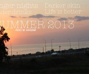 night, summer, and believe image